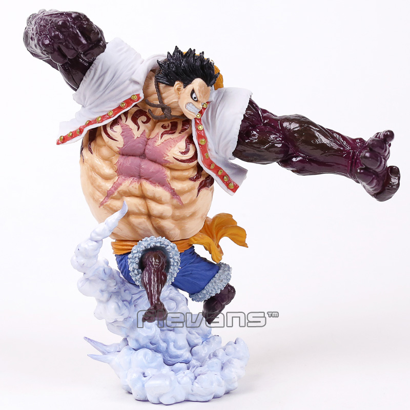 Anime One Piece Abiliators Monkey D Luffy Pvc Figure Collectible Model Toy Toys & Hobbies
