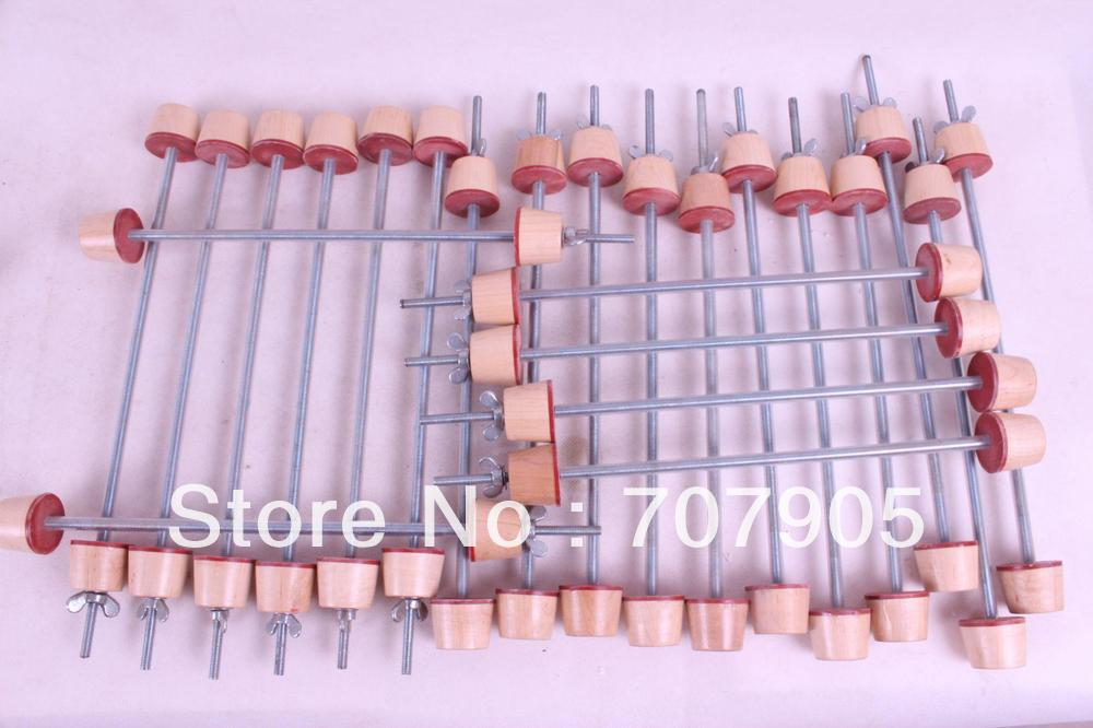 Luthier Tool,84 Pcs Double Bass Clamp Fix Top And Back #Q58