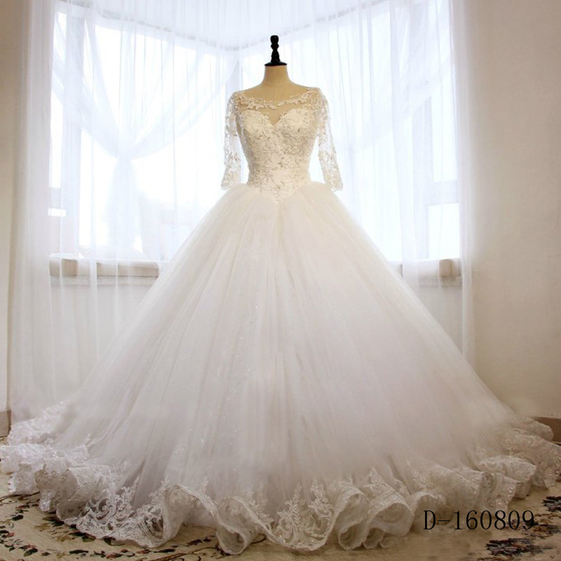 Vestidos de noiva country western wedding dresses ball for Western lace wedding dresses