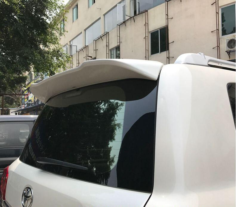 Краска АБС заднего крыла багажник спойлер для 16 17 Тойота Ленд Крузер Прадо, LC200 2016 2017 2018 быстро по EMS