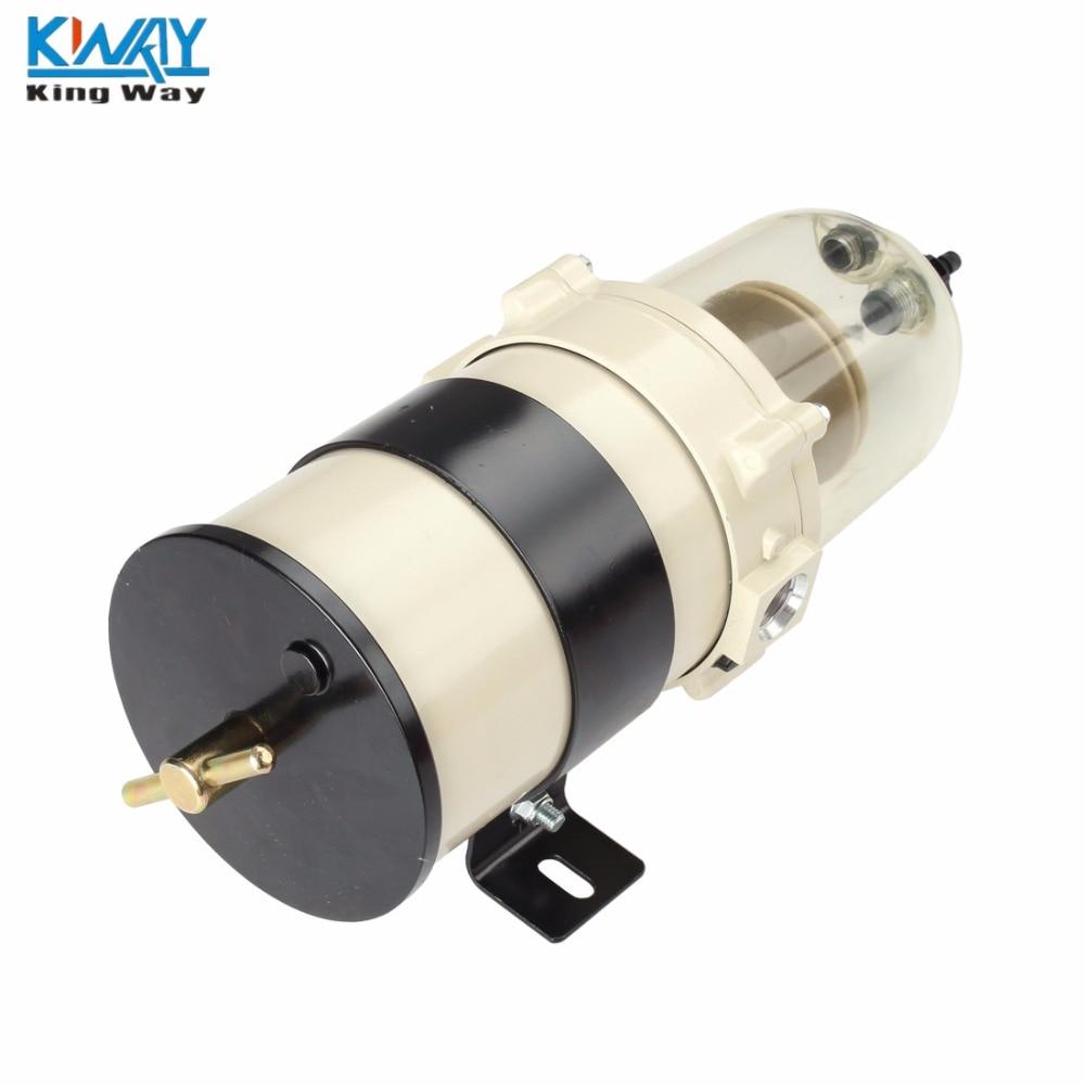 free shipping king way 900 series 900fh 90gph marine fuel filter turbine diesel water [ 1000 x 1000 Pixel ]