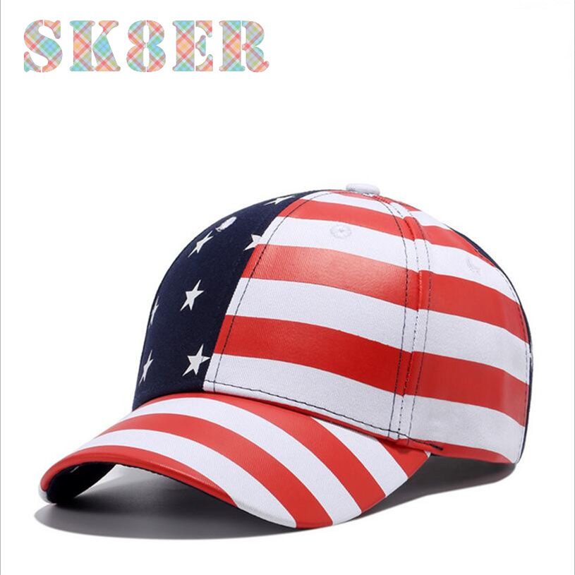 Two color outdoor sports caps with Pentagram stripe decoration suitable men or women running cap or tennis skateboard