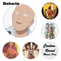 Babaite  ONE PUNCH-MAN Silicone Pad to Mouse Game Size for  20x20cm Gaming Mousepads