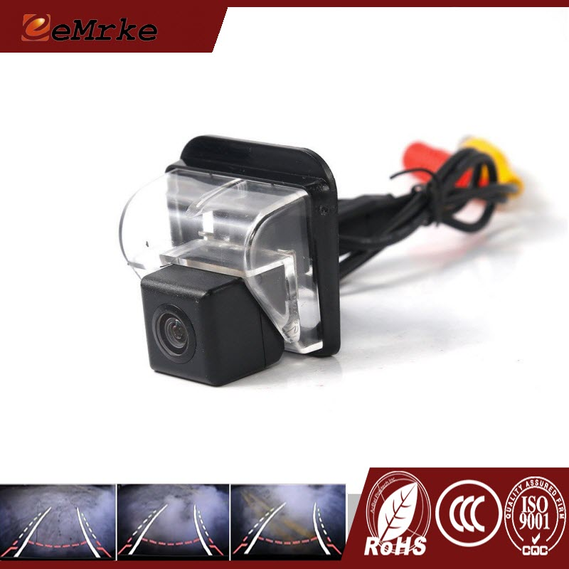 ФОТО eeMrke HD CCD Rear Camera For Mazda CX-7 CX7 2007~2013 Smart Dynamic Guidance Trajectory Parking Line Tracks Chips Car Camera