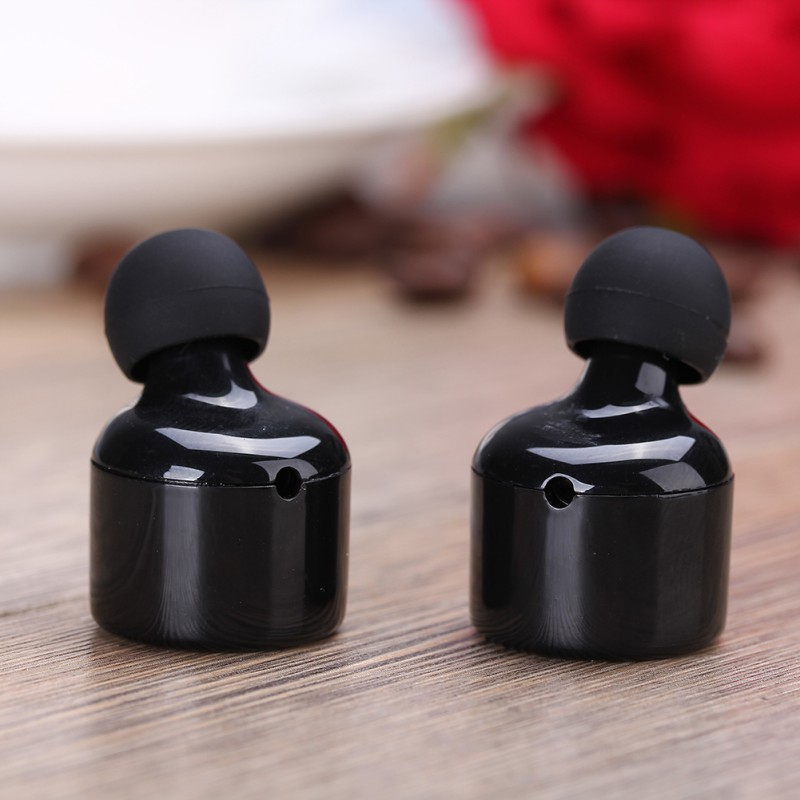 bilder für Portable Smart Mini Drahtlose Bluetooth Twins Stereo Mini Doppel Headset Kopfhörer Drahtlose Binaural Bluetooth Headset