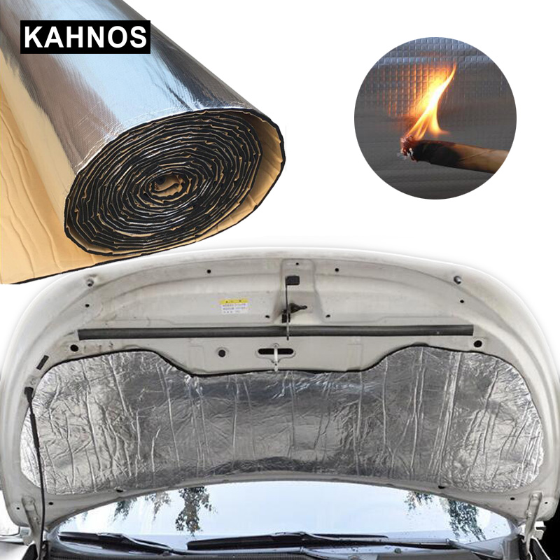 Image 2 - Thermal Insulation Hood Truck Heat Car Sound Insulation Material Noise Insulation Pad Engine Soundproofing Proofing Pad For Car-in Sound & Heat Insulation Cotton from Automobiles & Motorcycles