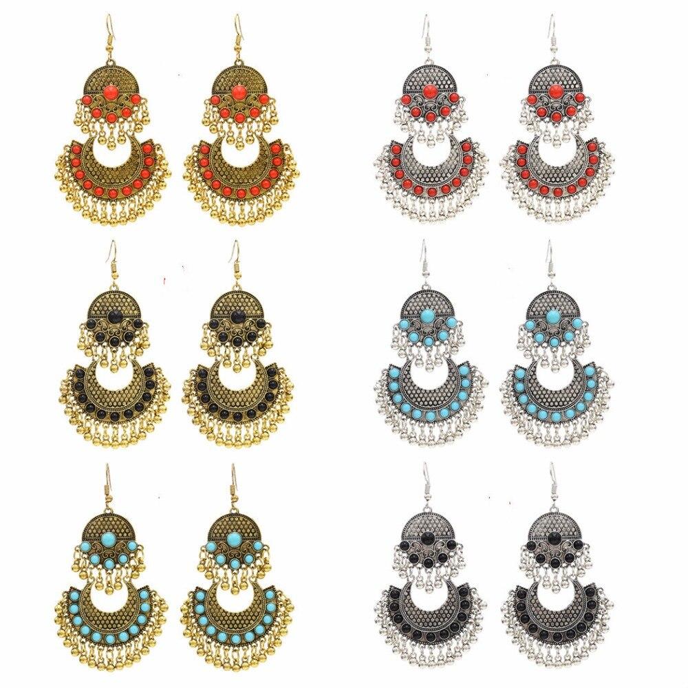 buy gypsy boho long tassel drop earring. Black Bedroom Furniture Sets. Home Design Ideas