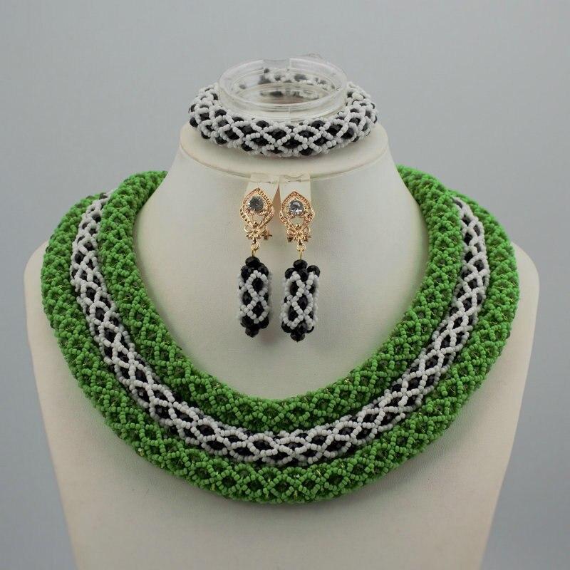 Здесь продается  Nigerian Wedding African Beads Jewelry Set Crystal Most Popular African Costume Jewelry Set ST304-1  Ювелирные изделия и часы