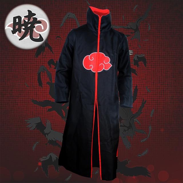 Naruto Robe Cape Akatsuki Cosplay Costumes Orochimaru uchiha madara Sasuke itachi vêtements de Cape