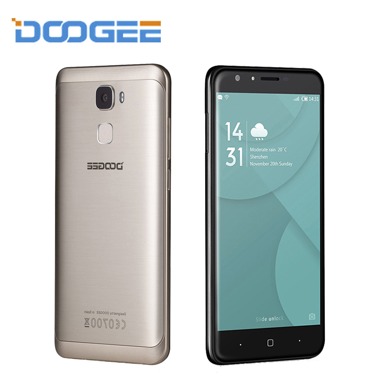 DOOGEE Y6 MTK6750 Octa Core Fingerprint Mobile Phones 5 5 Inch HD ROM 16G RAM 2G
