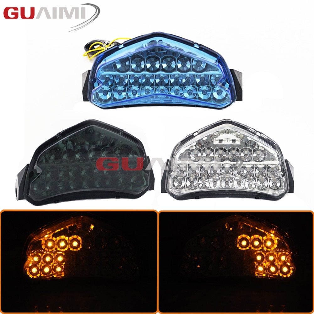 For SUZUKI GSXR 600 750 2004 2005 GSXR600 GSXR750 GSX R 600 750 K4 Led Taillight Tail Brake Turn Signals Integrated Light