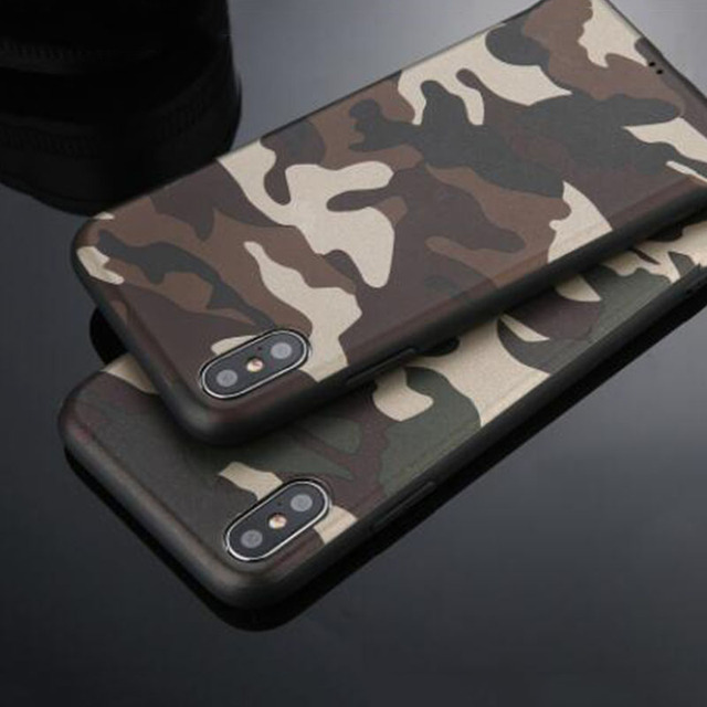 Camouflage Phone Case for Samsung Galaxy S6/S6 Edge/S7/S7 Edge Plastic TPU Army Camouflage Back Cover for S6/S6 Edge/S7/S7 Edge