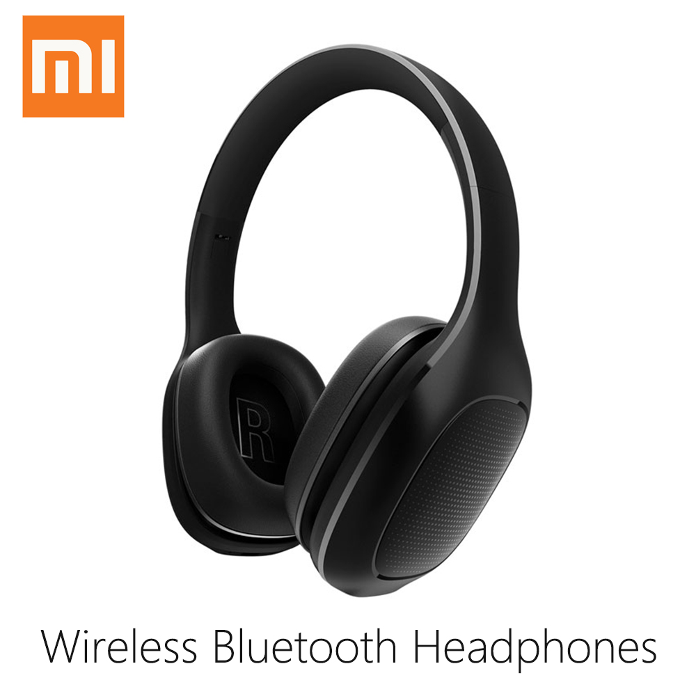 цена Original Xiaomi Mi Wireless Headphones Bluetooth Headset APT - X Music Player support Volume Control