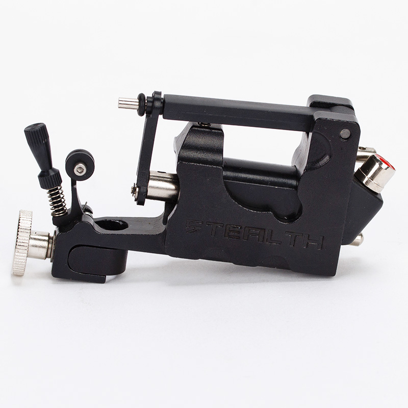 цены STEALTH ROTARY Aluminum Rotary Tattoo Machine Strong Consistent Power for Shader & Liner Black one