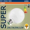 Высокая Яркость SMD5730 Светодиодные Лампы E27 220 В Привело B22 Лампы 220 В 3 Вт 5 Вт 7 Вт 9 Вт 12 Вт Светодиодный Прожектор Лампы Теплый белый/Белый A80 A90