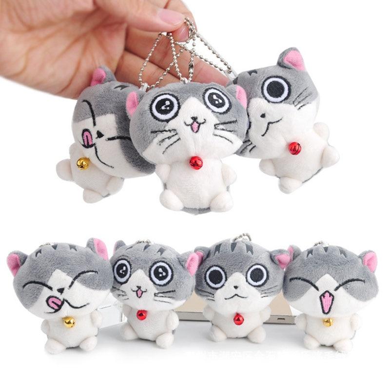 New Kawaii 7cm Kawaii Chi's Cat Plush Stuffed Toy Doll Kid's Keychain Pendant Gift Plush Toy Doll B0836