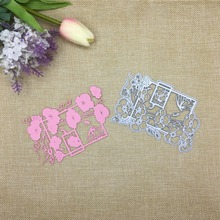 Julyarts Leaf Flower Metal Cutting Dies New 2019 Frame For Scrapbooking Card Making Decor