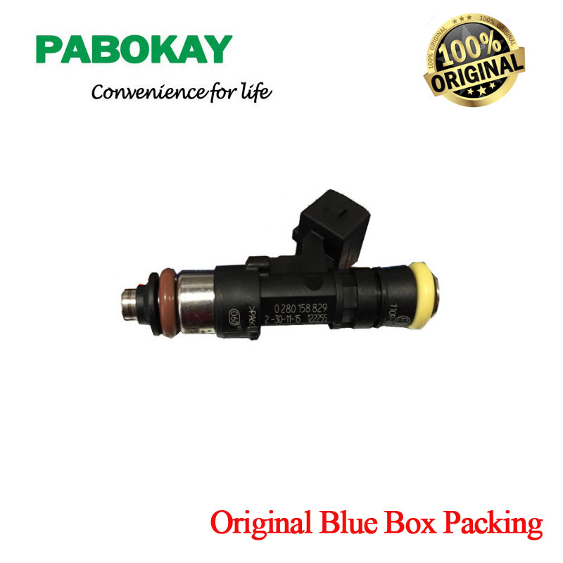 4 pieces x Methane GAS petrol e85 racing Genuine High performance ev1 2200cc 210lbs CNG fuel injector 0280158829 0280158830 все цены