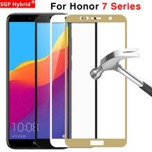 Schutz Glas Für Huawei Honor 7x7 s 7a 7c Pro Gehärtetem Glas Auf Die 7 X S EIN C X7 S7 A7 C7 7apro 7cpro Screen Protector Abdeckung