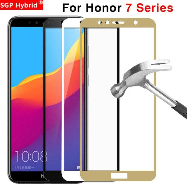 Vetro di protezione Per Huawei Honor 7x7 s 7a 7c Pro Temperato Glas Su La 7 X S UN C X7 S7 A7 C7 7apro 7cpro Dello Schermo Della Copertura Della Protezione