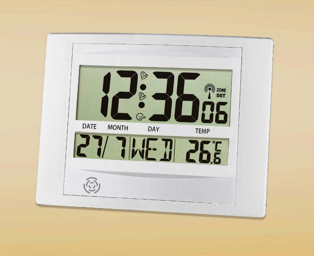 Aliexpress Buy Jimei H104c Dcf Digital Walltable Clock Europe