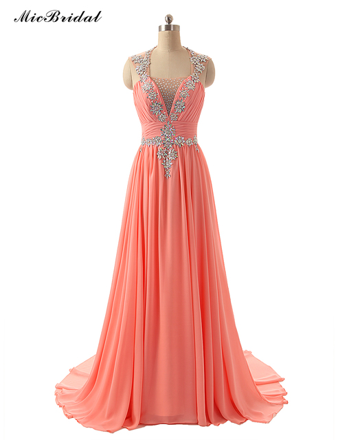 d83815b5c85a MicBridal Indian Prom Dresses Real Photo Elegant Pleat Cheap Long Party  Dress 2016 MX-115 Vestidos de Festa Vestido Longo