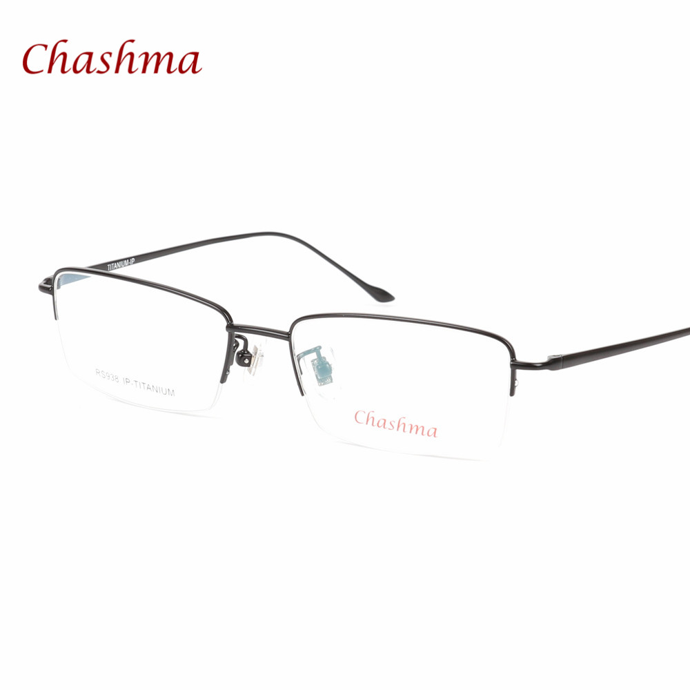 ツ)_/¯Chashma Ultra ligero gafas de titanio prescripción gafas ...