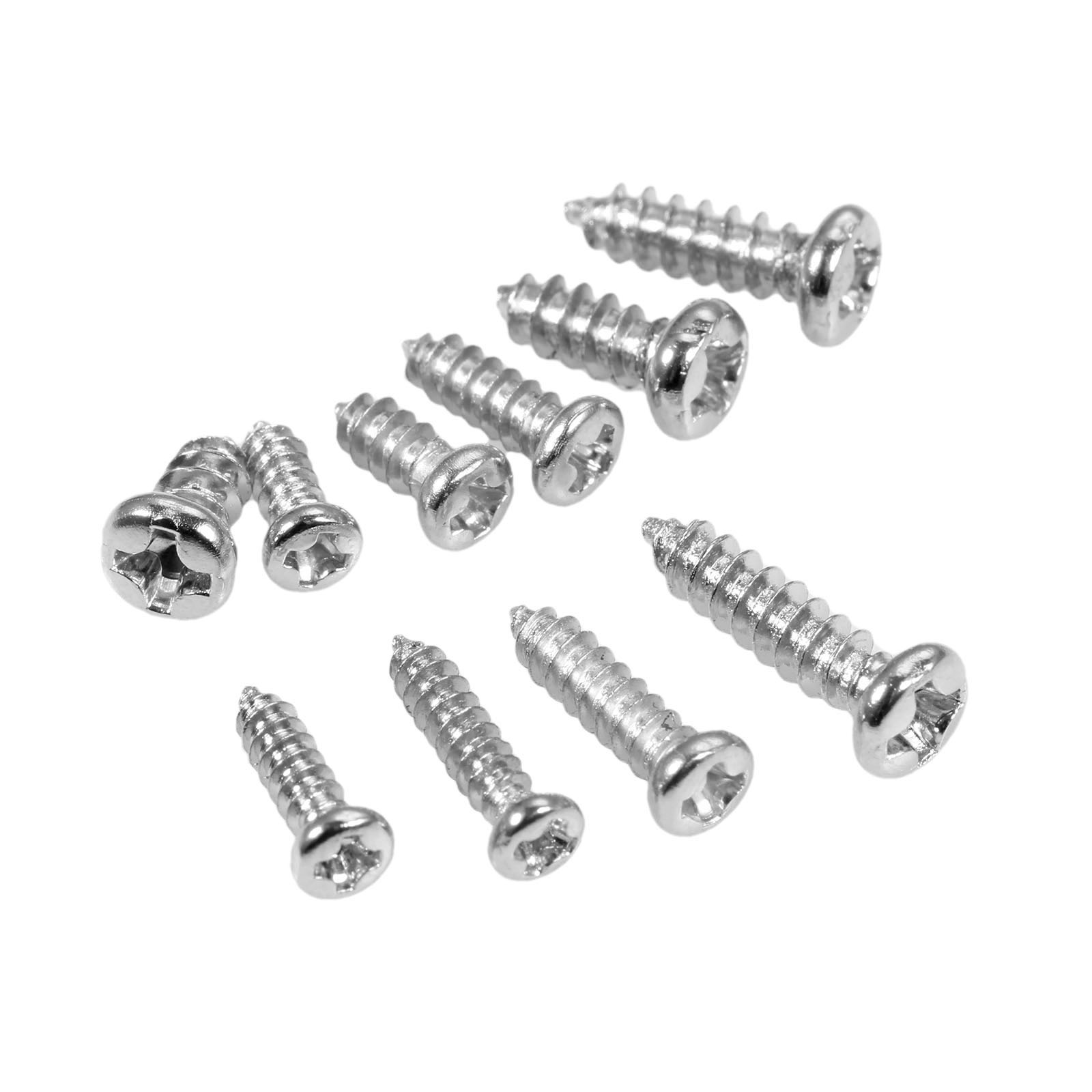 100pcs M2.3 <font><b>M2.6</b></font> M3 Self Tapping Wood <font><b>Screws</b></font> Round <font><b>Screw</b></font> 304 Stainless Steel Phillips Cross Pan Head <font><b>Screws</b></font> 6/8/10/12mm image