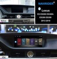 Quad core Android 7,1 автомобиля мультимедийное головное устройство сенсорный экран стерео gps navi для Lexus ES ES200 ES300h ES250 ES350 2013 2018