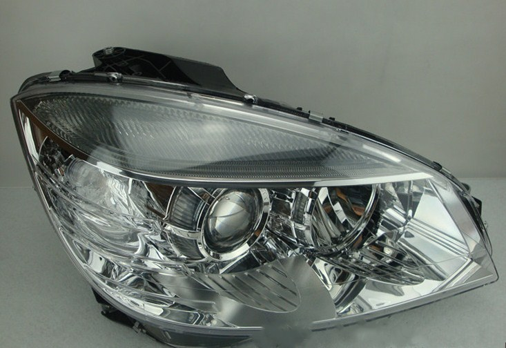 eOsuns headlight assembly for <font><b>Mercedes</b></font>-Benz C Class W204 C180 C200 C220 C240 C260 C280 <font><b>C300</b></font> 2008-<font><b>2010</b></font> image