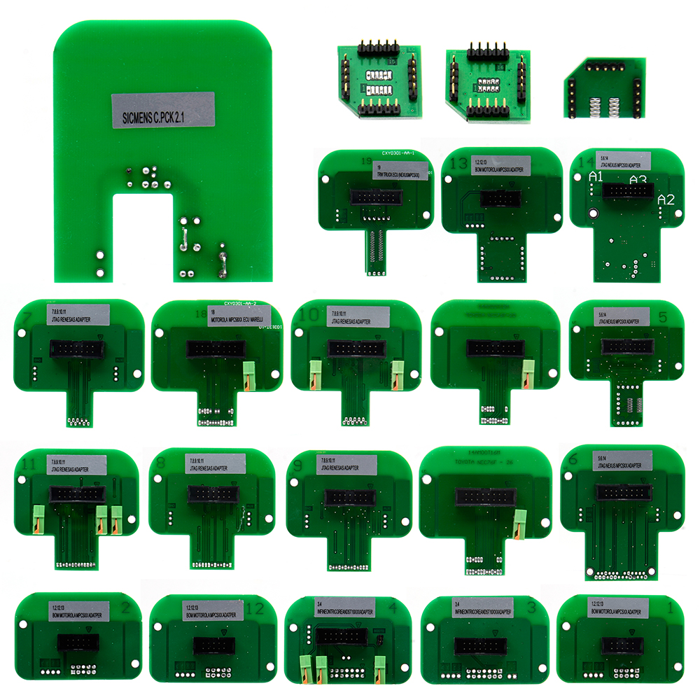 Special Section 22pcs Bdm Adapters Ktag Kess Ktm Dimsport Bdm Probe Adapters Full Set Led Bdm Frame Ecu Ramp Adapters Consumers First