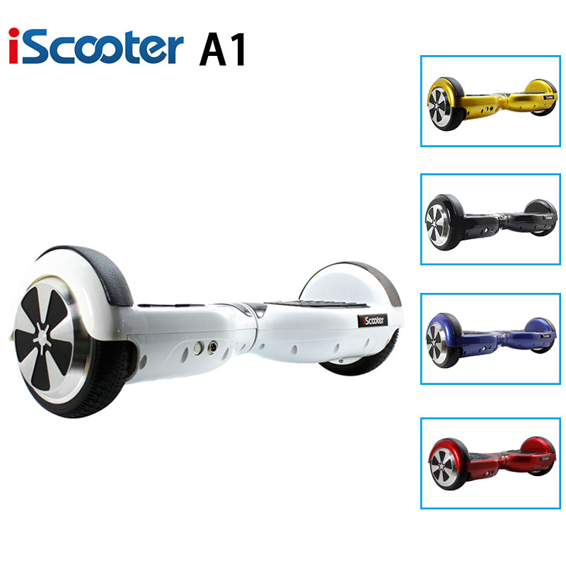 UL2722 IScooter Hoverboard 6 5inch 2 Wheel 6 5 Self Balance Scooter Smart Steering Wheel Geroskuter