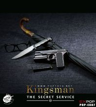 1/6 Scale Male Action Figure Model Toys POPTOYS EX07 Kingsman:The Secret Service Harry Hart Agents Leader Model Hobby Collection