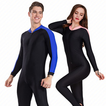 SBART Sunscreen Long Sleeves Muslim Wetsuits Swimsuit Swimsuit Jellyfish Diving Suits Snorkeling Suits for Men and Women