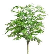 75CM yeni yüksek kaliteli yapay büyük Fern çim ağacı bitki Fern çim sahte saksı bitki ev bahçe dekor dekoratif bitki ağacı