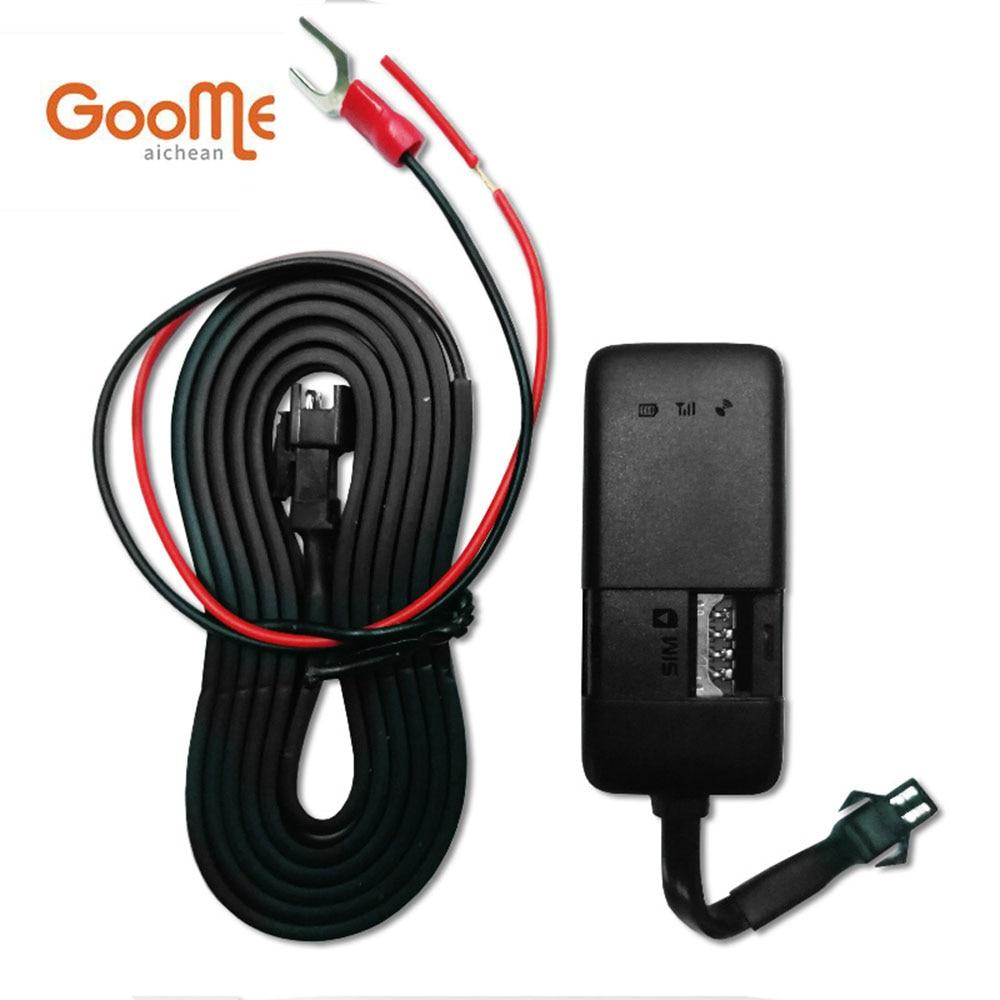 Goome GM02EW GPS Tracker Mini Localisateur GSM GPS Tracker Pour La Voiture Dispositif de Suivi des Véhicules Avec Système de Suivi En Ligne
