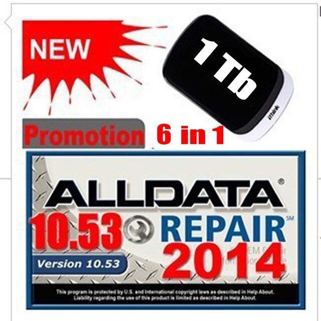 Versandkostenfrei Alldata 10,5 + Mitchell 2015 + ATSG 2012 + ...