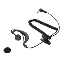 Listen Only Earpiece for Motorola Radio,1 Pin 3.5mm G shape Headset Walkie Talkie two-way radio