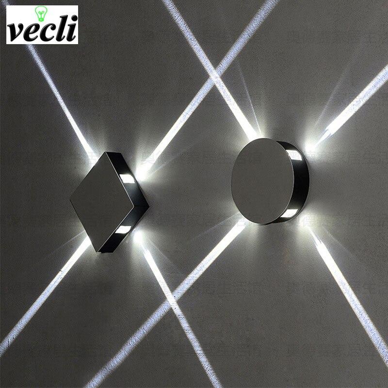 6W 12W Led Wall Lamp Led Spot Light Modern Home Decoration Light For Bedroom/dinning Room/restroom AC85-265V Indoor Bar