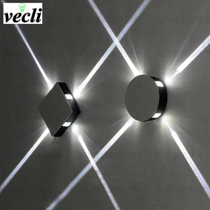 6W 12W led wall lamp led spot light modern home decoration light for bedroom/dinning room/restroom AC85-265V indoor bar