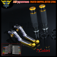 7 Colors CNC Motorcycle Brake Clutch Levers and Handlebar Hand Grips For Ducati 996/998/B/S/R 748/750SS MTS1000SDS/DS