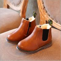 GARYDUCK Children Boots New Winter Baby Boys Girls Snow Boots Classic Kids Casual Shoes British Style