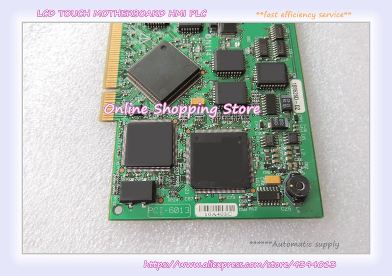 PCI-6013 industrial motherboard 100% tested perfect quality