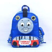 حار بيع لطيف الأطفال الكرتون حقيبة المدرسة نمط توماس الأطفال جميل بادي حقيبة مدرسية شحن مجاني