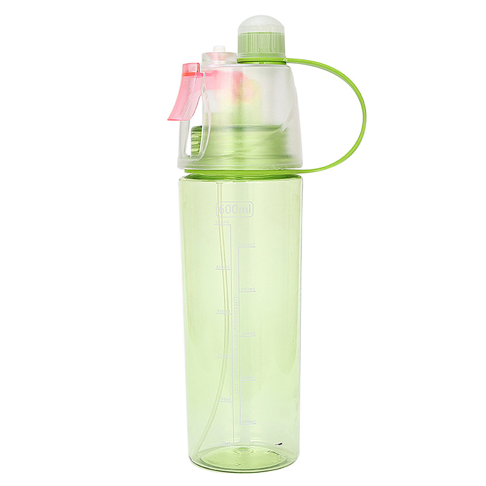 600ml Sport Cycling Brumisateur Eau Spray Water Gym Beach Bottle Leak proof Drinking Cup Outdoor Climbing Plastic Bottles #B20|Water Bottles| |  - AliExpress