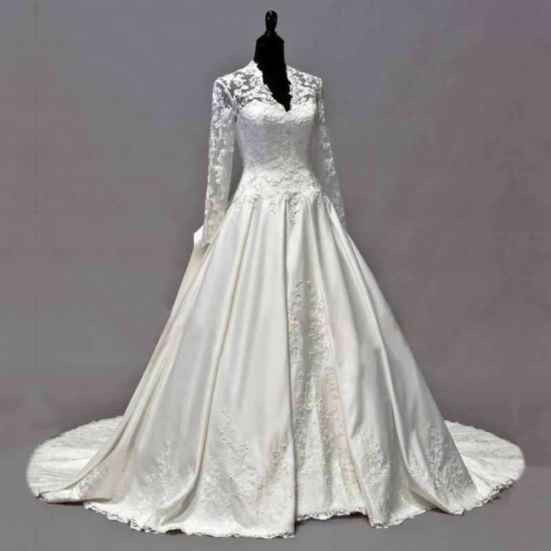 Online Buy Wholesale princess kate wedding dress from China ...