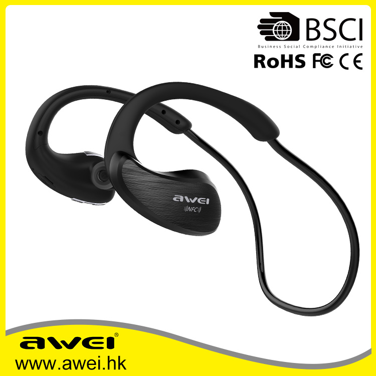 A885BL Bluetooth Headphones Sport Wireless Earphones fone de ouvido bluetooth earphone With Microphone For Phone ,NFC soupport