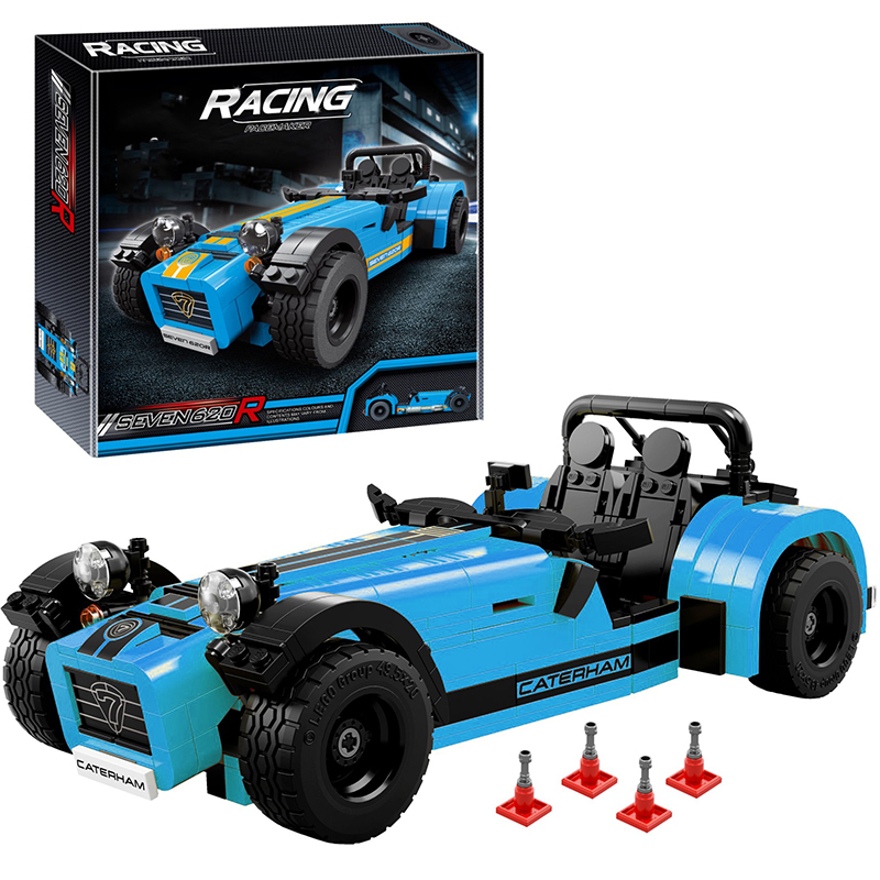 Decool 8612 Caterham Seven 620R building bricks blocks Toys for children boys Game Model Car Gift Compatible with Lepin 21307 lepin 02012 city deepwater exploration vessel 60095 building blocks policeman toys children compatible with lego gift kid sets