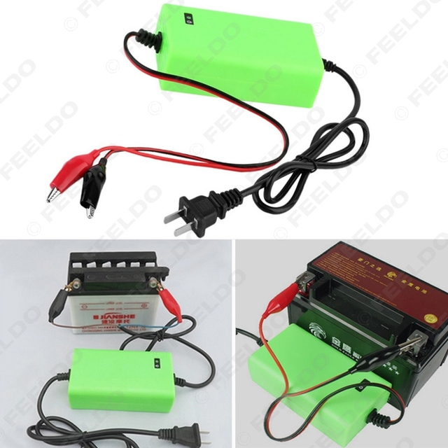 Car 12V 2A Rechargeable Battery Charger 220V AC Current Motorcycle Acid Charger US Plug #FD-1137