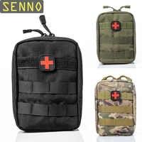 Mini bolsa de viaje Kit de primeros auxilios supervivencia portátil táctica de emergencia bolsa de primeros auxilios Kit militar paquete médico rápido